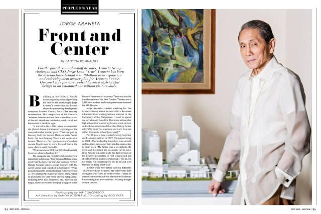 Jorge Araneta People Asia